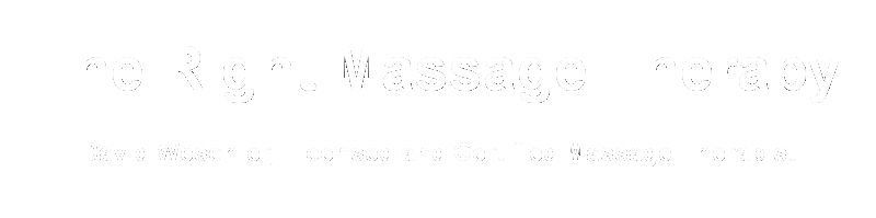 The Right Massage Therapy
